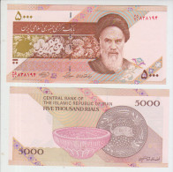Iran 5000 Rials (2013) Pick 152 UNC - Iran