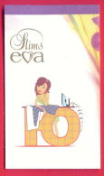 H536 / SLIMS EVA - Cigarette Card - Clothes Iron Flatiron Fer à Repasser SEXY GIRL - Bulgaria Bulgarie Bulgarien - Autres