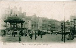 GAND - Marché Aux Grains - Kiosque - Belgique
