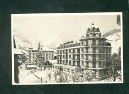Suisse OW - Engelberg - Hotel Schweizerhof - Familie Ed. Obrecht ( Kohler) - OW Obwald