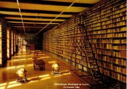 TROYES : Bibliothèque Municipale - La Grande Salle - XVIIIe Siècle - Troyes