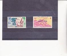 WALLIS ET FUTUNA  - POSTE AERIENNE N° 11 ET 12 OBLITERES  TRES BELLE OBLITERATION - - Used Stamps