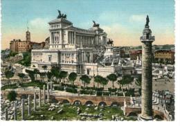 Roma - Foro Traiano E Monumento A Vittorio Emanuele II - Roma (Rome)