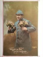 Guerre De 1914, Muguet De Mai, Porte-Bonheur, Soldat De Brive - Guerre 1914-18