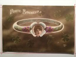 Guerre De 1914, Porte-Bonheur, A Toi Mon Coeur Pour Toujours, Soldat De Cahors - Guerre 1914-18