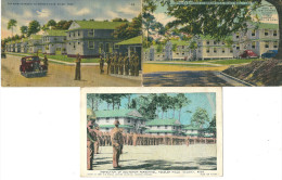 CPA ETATS-UNIS LOT DE 3 CPA BILOXI ARMY AIR FORCES  KEESLER FIELD - Etats-Unis