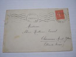 F3 FRANCE FRANCIA - 1932 PARIS GARE PLM 50 CENT. X CHAMONIX MONT BLANC SAVOIE - Francia