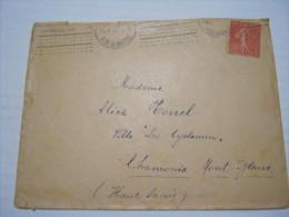F3 FRANCE FRANCIA - 1932 PARIS RUE BASTILLE 50 CENT. X CHAMONIX MONT BLANC SAVOIE - Francia