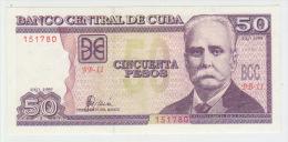 Cuba 50 Pesos 1999 Pick 119 UNC