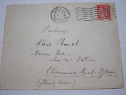 F3 FRANCE FRANCIA - 1933 PARIS 25 RUE DANTON 50 CENT. X CHAMONIX MONT BLANC SAVOIE POLITICA STORIA RIVOLUZIONE FRANCESE - Francia