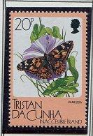 (cl 31 - P13) Tristan Da Cunha ** N° 396 - Papillon - Tristan Da Cunha