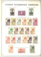 AOF Collection Compléte * &  Obl. Poste , PA & BF  Trés Propre - Non Classés