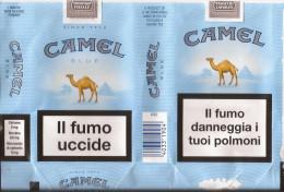 TABACCO - CAMEL COLLECTORS -  CAMEL BLUE  - EMPTY SOFT PACK ITALY - - Contenitori Di Tabacco (vuoti)