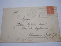 F3 FRANCE FRANCIA - 1932 PARIS 1 RUE DE LA BOURSE 50 CENT. X CHAMONIX BORSA ECONOMIA COMMERCIO AZIONI MUSEE COGNAC VINO - Francia