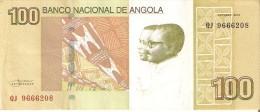 BILLETE DE ANGOLA DE 100 KWANZAS DEL AÑO 2012 (BANKNOTE) - Angola