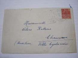 F3 FRANCE FRANCIA - 1931 LE PAYET HAUTE SAVOIA 50 C. EXPO COLONIALE X CHAMONIX MONT BLANC 2 ERINOFILI TUBERCOLOSI - Francia