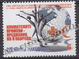 Macedonia 2008 Beneficience Yvert 118, Red Cross Week - MNH - Macedonia