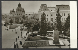 Romania, Tg. Mures-Marosvasarhely,Stalin Square, 1964 . - Rumania