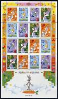 ALBANIA 2004 Cartoon Characters  Sheetlet  MNH / **.  Michel 2979-82 Kb - Albania