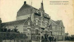ROUSBRUGGE-HARINGHE - FLANDRE ORIENTALE -  BELGIQUE - PEU COURANTE CPA ANIMEE 1915. - Belgique