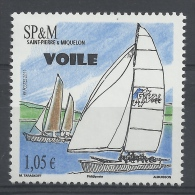 Saint Pierre And Miquelon, Sailing, 2011, MNH VF - Unused Stamps