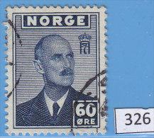 NORWAY 1943; Mi: 283; USED; London Stamps, King Haakon VII (1872-1957) - Noruega