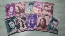 Lot  10 Revues Mon Film - 1948 - N° 88 à 100 - Books, Magazines, Comics