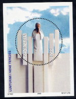 ALBANIA 2003 Mother Teresa Block  MNH / **.  Michel Block 149 - Albania