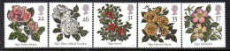 GB 1991 Roses Set Of 5, MNH - 1952-.... (Elizabeth II)