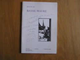 REVUE BASSE WAVRE N° 3 / 2000 Régionalisme Collège Notre Dame De Basse Wavre Collectif Ecole Brabant Wallon - Belgique