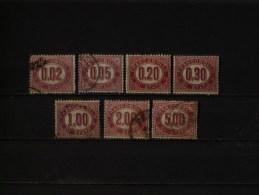 ITALIE - 1875 Timbres De Service N° 1/7 (voir Scan) - Servizi