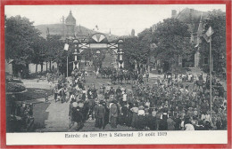 67 - SELESTAT - Entrée Du 31 ème Bon Le 25 Août 1919 - Editeur Manias Strasbourg - Selestat