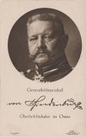 AK Generalfeldmarschall Paul Von Hindenburg Oberbefehlshaber Im Osten Später Reichspräsident Wohlfahrtspostkarte - Personaggi