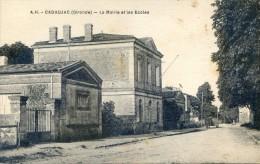 Cadaujac - La Mairie Et Les écoles - France