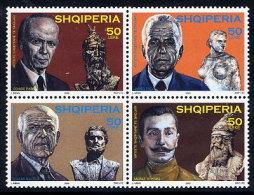 ALBANIA 2003 Sculptors Set Of 4    MNH / **.  Michel 2954-57 - Albania