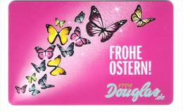 Germany - Allemagne - Douglas - Butterfly - Schmetterling - Carte Cadeau - Carta Regalo - Gift Card - Geschenkkarte - Tarjetas De Regalo