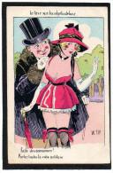 """CPA Illustrée Par W.TIP - """" La Taxe Sur Les Objets De Luxe """" Prostitution - Other Illustrators"""