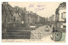 Cp, 80, Viel Amiens, Rue Du Don, Voyagée - Amiens