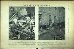 De 1902 - Article/photogravure - La Grêve Des Mineurs - - Ohne Zuordnung