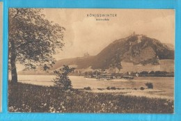 C.P.A. Königswinter - Drachenfels - Koenigswinter