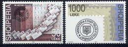 ALBANIA 2003 Stamp Anniversary Set Of 2 MNH / **.  Michel 2931-32 - Albania