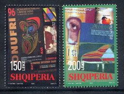 ALBANIA 2003 Europa: Poster Art Set Of 2 MNH / **.  Michel 2928-29 - Albania