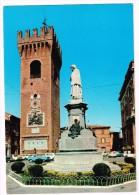 K1207 Recanati (Macerata) - Torre Del Borgo E Monumento Al Poeta Giacomo Leopardi - Auto Cars Voitures / Non Viaggiata - Italia