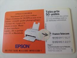 RARE : EPSON NUMÉROTATION - France