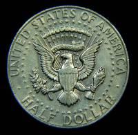 STATI UNITI HALF DOLLAR 1968 AR 400 - Emissioni Federali