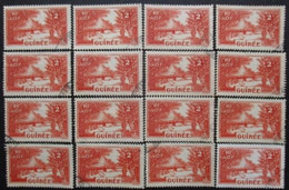 GUINEE N°125 X 17 Oblitéré - Stamps