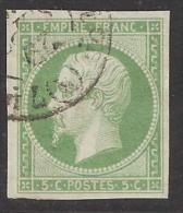 Y&T No 12a - 1853-1860 Napoléon III