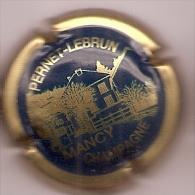 Pernet Lebrun Bleu Et Or - Other