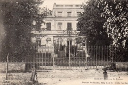 91 Milly  Chateau Du Rousset Animée - Milly La Foret