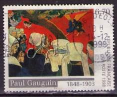 3207 - Peinture De Paul Gauguin  - Oblitéré (cachet Rond) -année 1998 - Gebruikt
